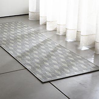 Aldo Dove Grey Indoor-Outdoor 2.5\'x8\' Rug Runner | kitchen ...