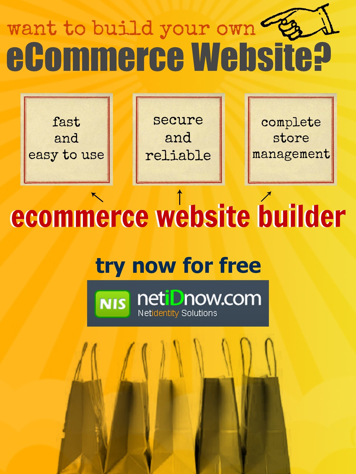 Learn how ecommerce website builder can fast track your ecommerce website setup.