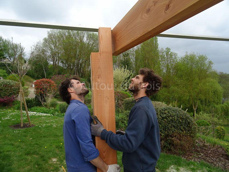 Construction assistée de votre terrasse bois sol ou suspendue à
