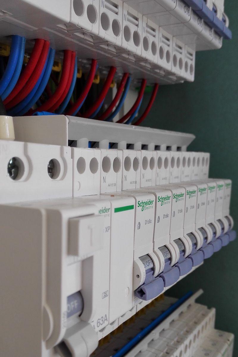 Branchement Electrique Disjoncteur Divisionnaire Branchement Tableau Electrique Tableau Electrique Branchement Electrique
