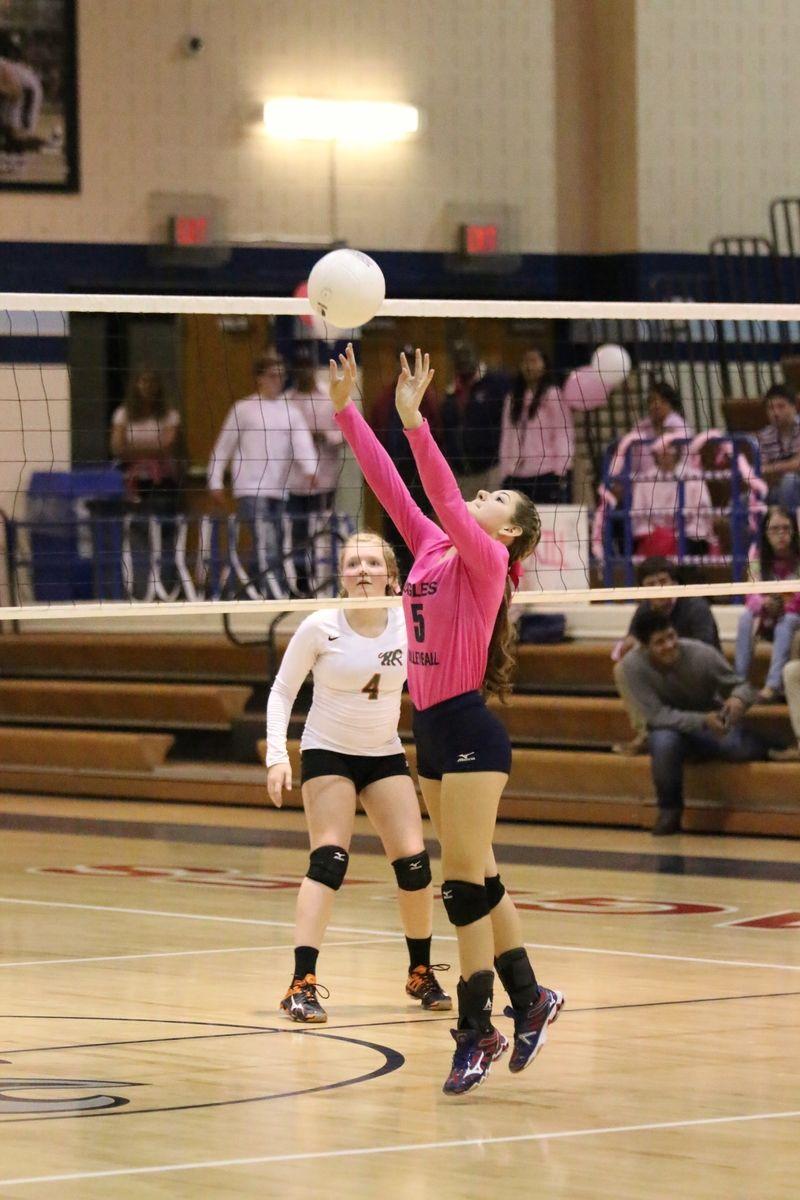 Pin De Talon Yearbook En 2016 Liberty High School Volleyball Dig Pink