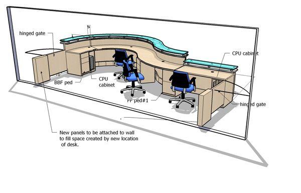 Housatonic Rear Jpg 600 384 Reception Desk Reception Desk Drawing Ada Reception Desk