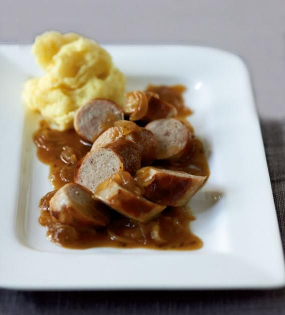 Bratwurst mit Zwiebelsauce Recipe - ayurvedische küche rezepte