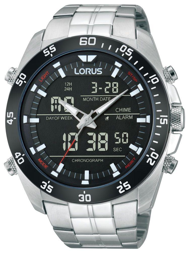 Ceasuri: Lorus RW611AX9 Analog-Digital Alarm Chronograph 100M 46mm Cod produs: mid-15246   Pret - 461,62 lei