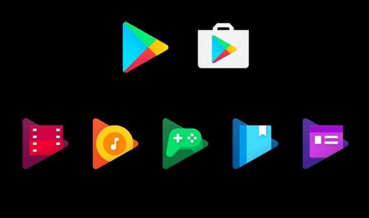 Google Announces New Google Play App Icons #google