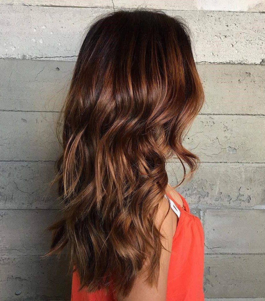 Dark Auburn Hair Color With Highlights Best Hair Color For Summer