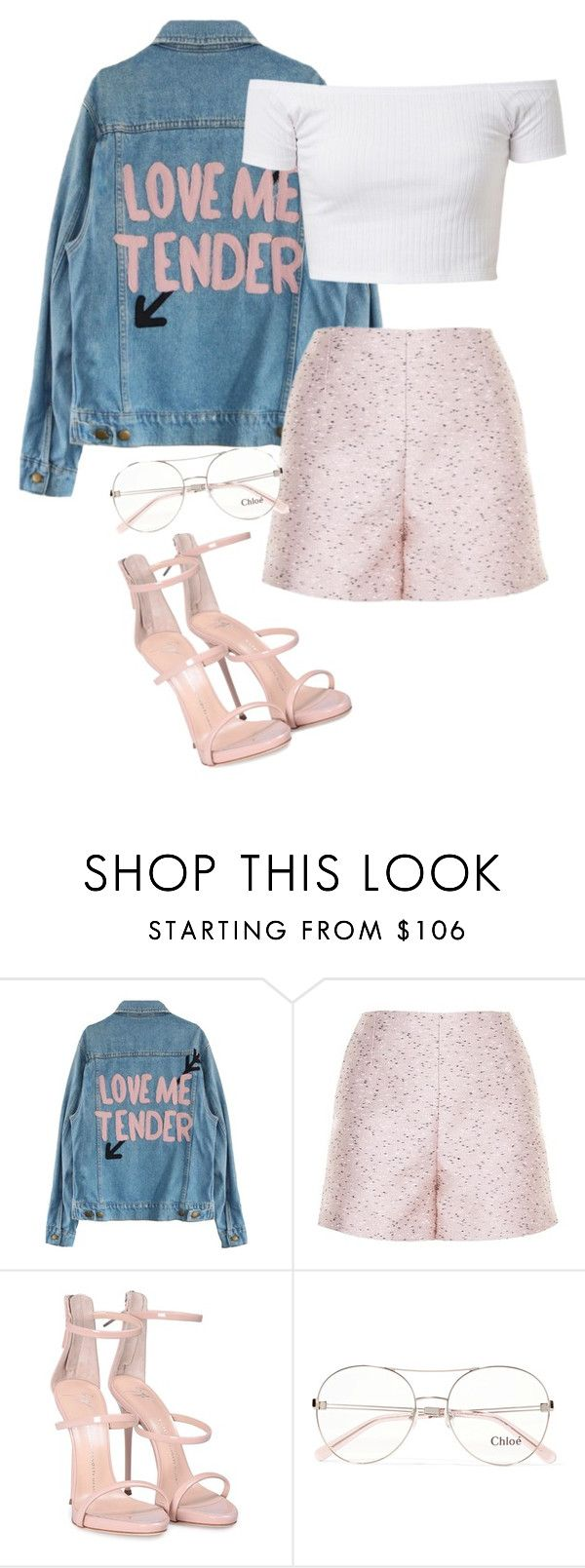 """.."" by pnrcalis ❤ liked on Polyvore featuring Balenciaga, Giuseppe Zanotti and Chloé"