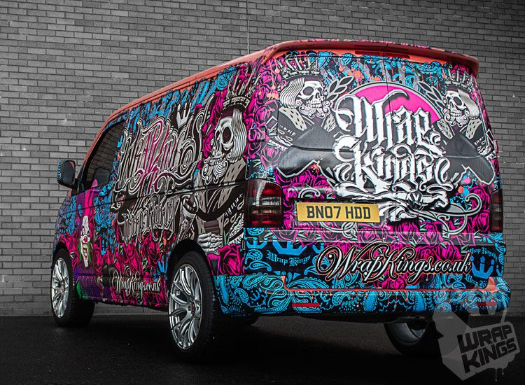 Wrap Kings New Demo Van Wrap Kings Van Wrap Car Wrap