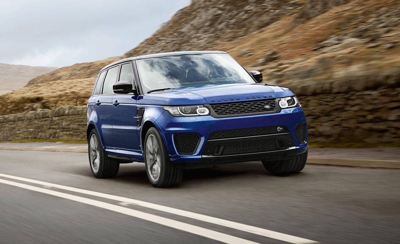 2015 Land Rover Range Rover Sport SVR Range rover sport