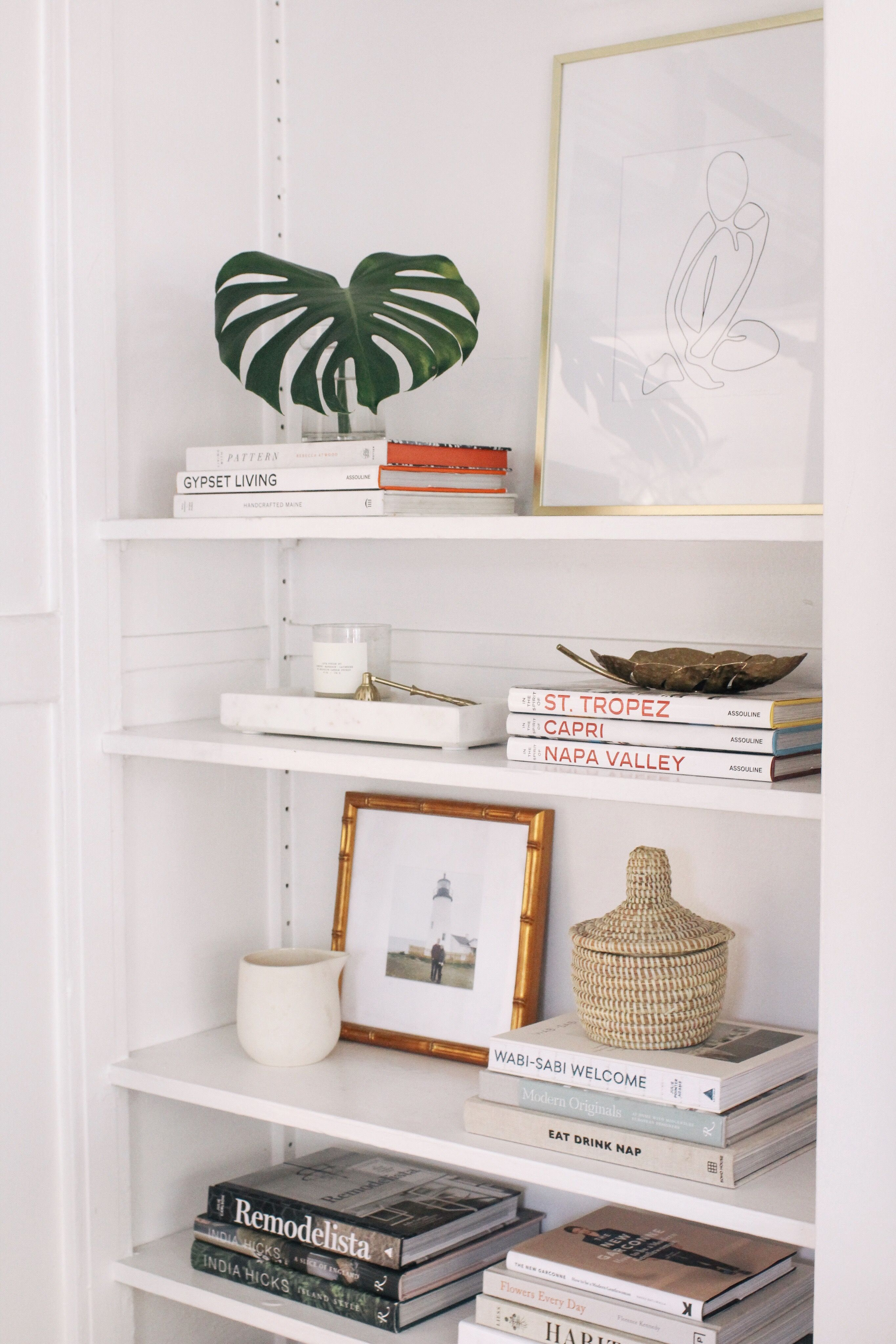 Photo of Easy Steps for Shelf Styling