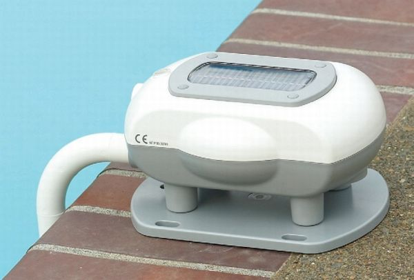 This is a solar powered pool meter that helps you to ensure the safety of your children at the pool.