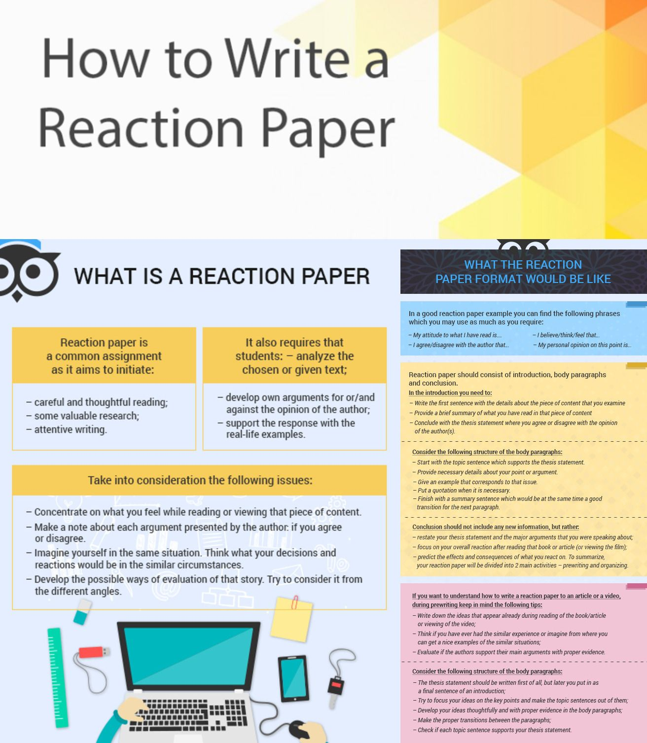 Reaction paper help