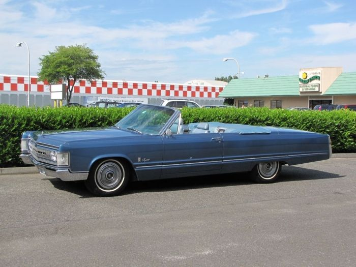 1967 Chrysler Imperial Crown Convertible 1942 T Barrel Back Station Wagon Appreciated By Motorheads Performance Classiccarssanantonio