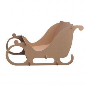 traineau du p re noel en carton noel pinterest traineau du pere noel le p re no l et p re. Black Bedroom Furniture Sets. Home Design Ideas