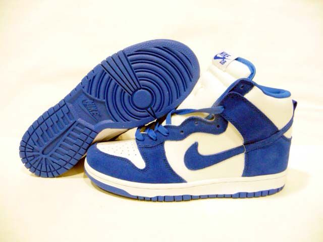 new products f52ec 8d7aa Nike Dunks High Be True To Your School Kentucky Blue White