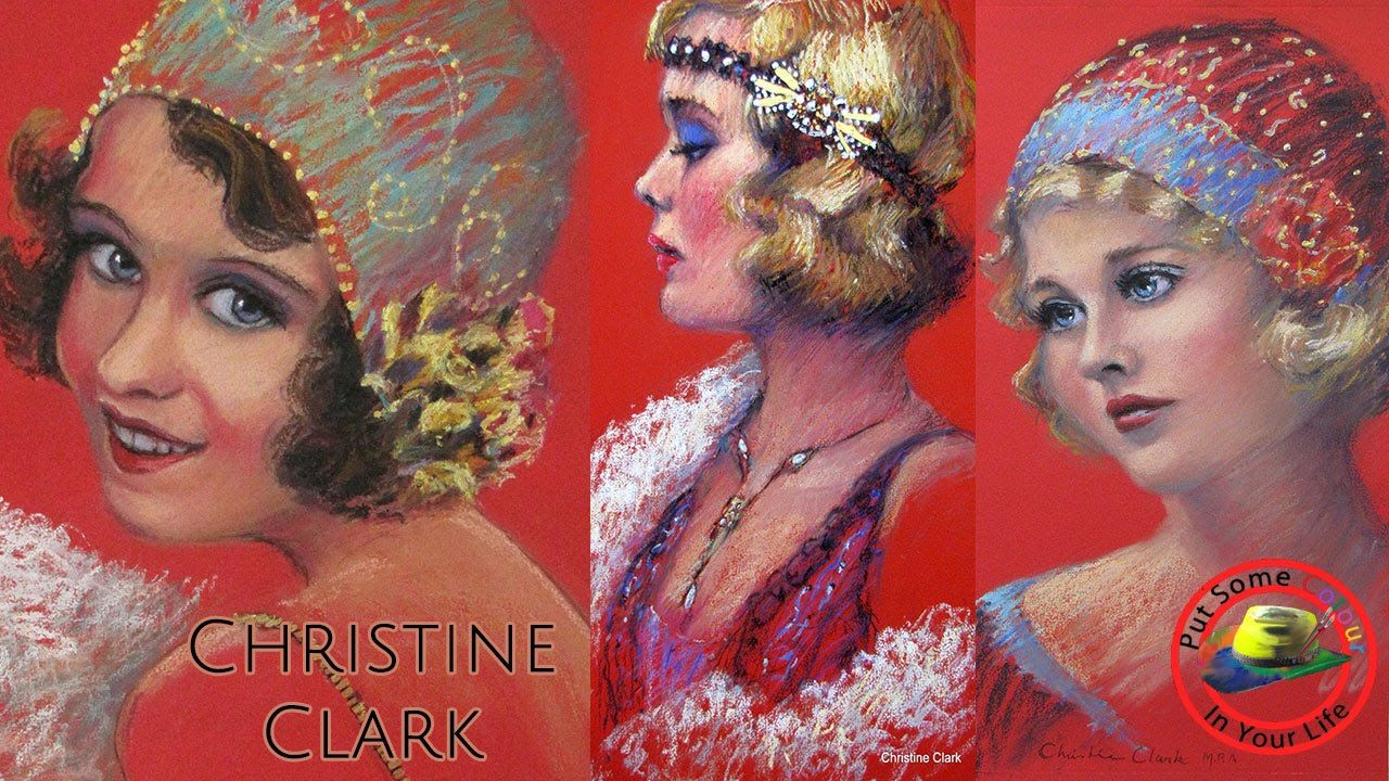 Fine art tips on how to do pastel portraits with christine