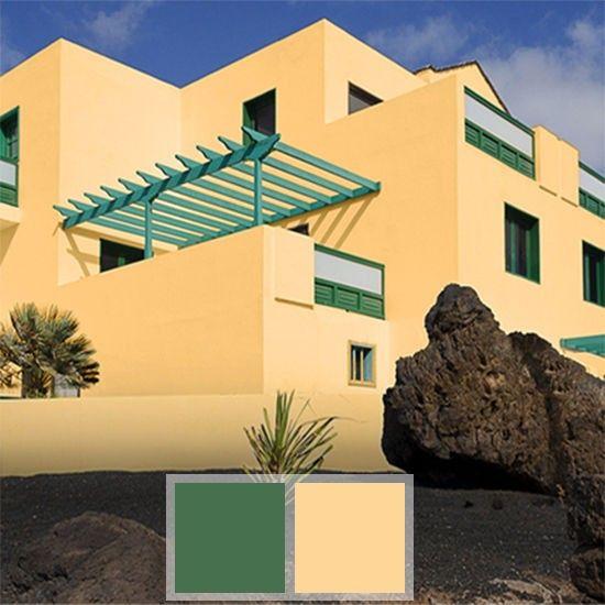 Colores para exteriores de casas comex proyectos a - Pintura para fachadas exteriores ...