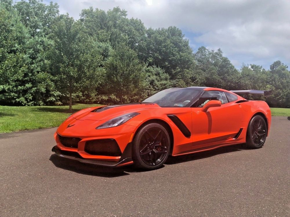 2019 Chevrolet Corvette Zr1 2019 Chevrolet Corvette Zr1 Coupe
