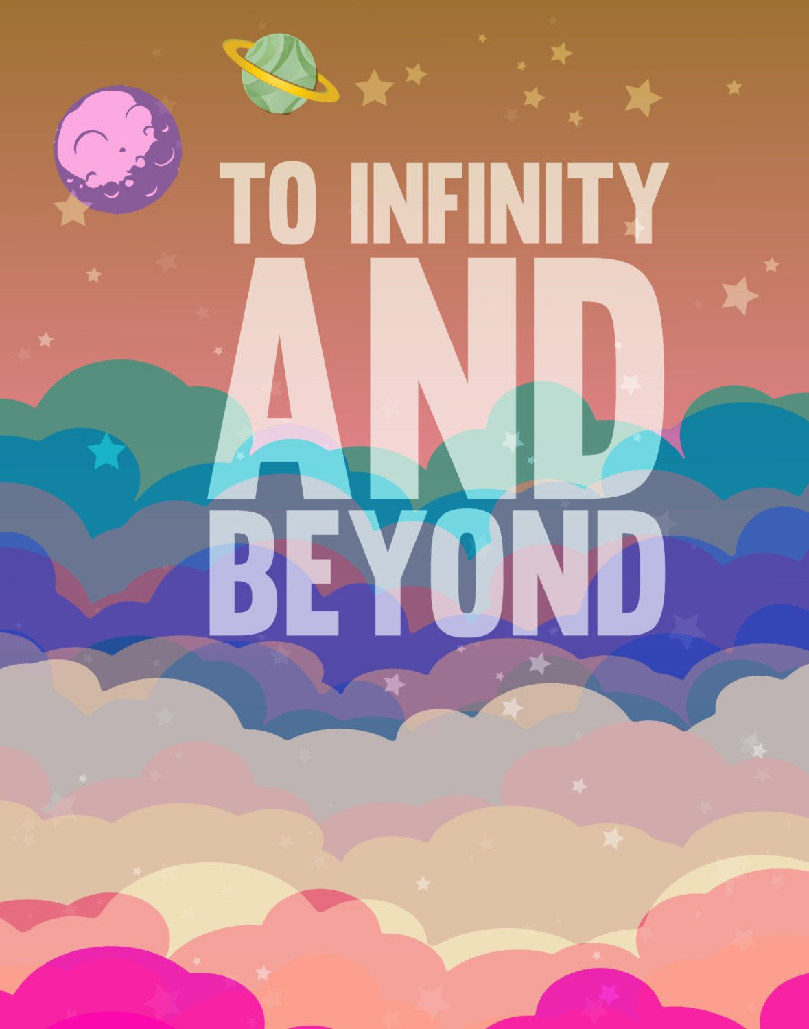 To Infinity And Beyond Buzz Lightyear Disney Toy Story Pixar Digital File Toy Story Quotes Toy Story Funny Disney Quotes