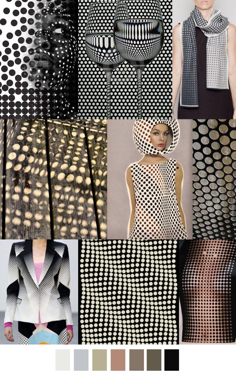 Pattern Curator - HALF-TONE A/W17 | trend 2017 | Fashion ...