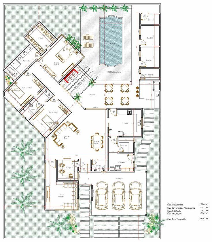 Planos y dise os de casa y jardin 15 organizaci n del for Planos de jardines