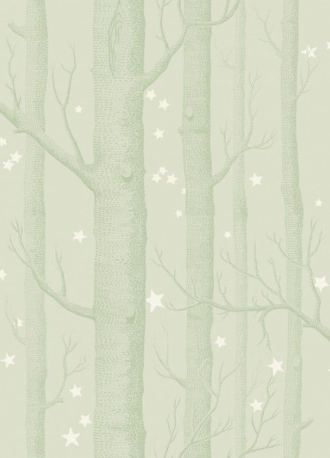 Cole And Son S Whimsical Range Wallpaper Woods And Stars Grey