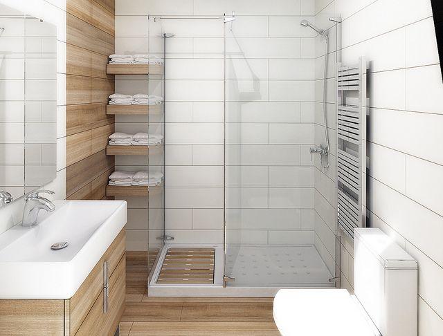 Resultado de imagen de cuartos de baño pequeños con plato de ducha ...