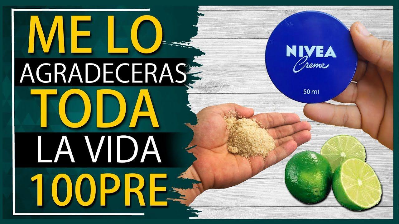 Agrégale Azúcar Y Limón A Tu Crema Nívea Y Mira Lo Que Le Ocurrirá A Tu Productos Caseros De Belleza Tratamientos De Belleza Tips De Belleza Naturales