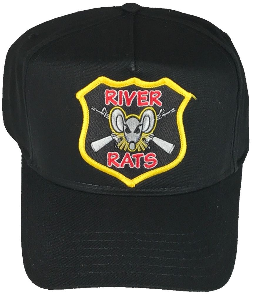 7fafe09c3 RIVER RATS VIETNAM HAT RIVER RATS VIETNAM HAT [HNP0016EEHAT] - $14.00 : Hat  n Patch, Military Hats, Patches, Pins and more