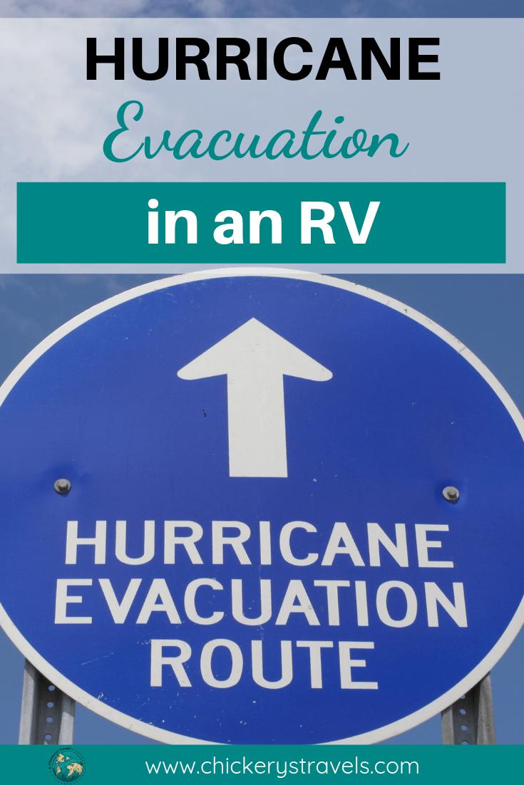 Rv Hurricane Evacuation Tips And Lessons Learned Hurricane Evacuation National Hurricane Center Evacuation