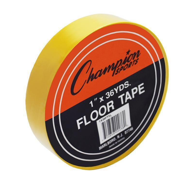 6 Rl Floor Marking Tape Yellow Champion Sports Sports Tape
