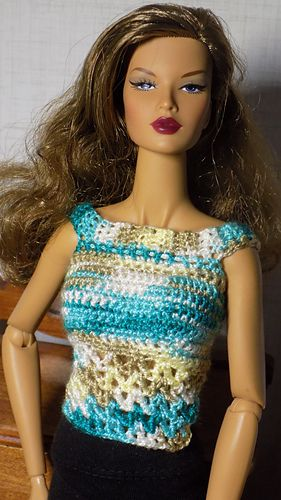 Top - Free pattern | Elloise | Pinterest | Barbie, DIY und ...