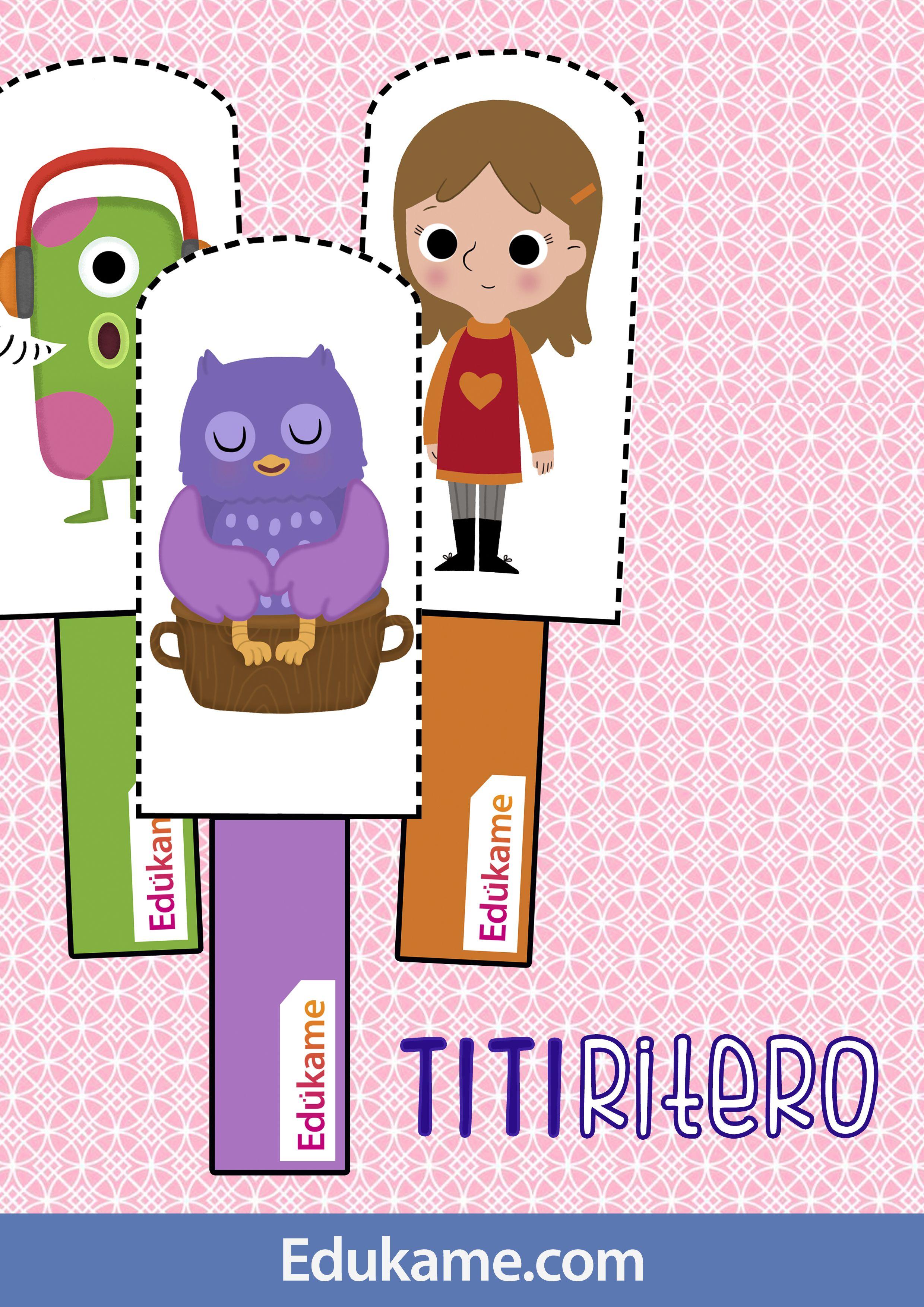 Un juego para que padres e hijos interactuen entre ellos para favorecer el uso del habla. http://edukame.com/node/17387