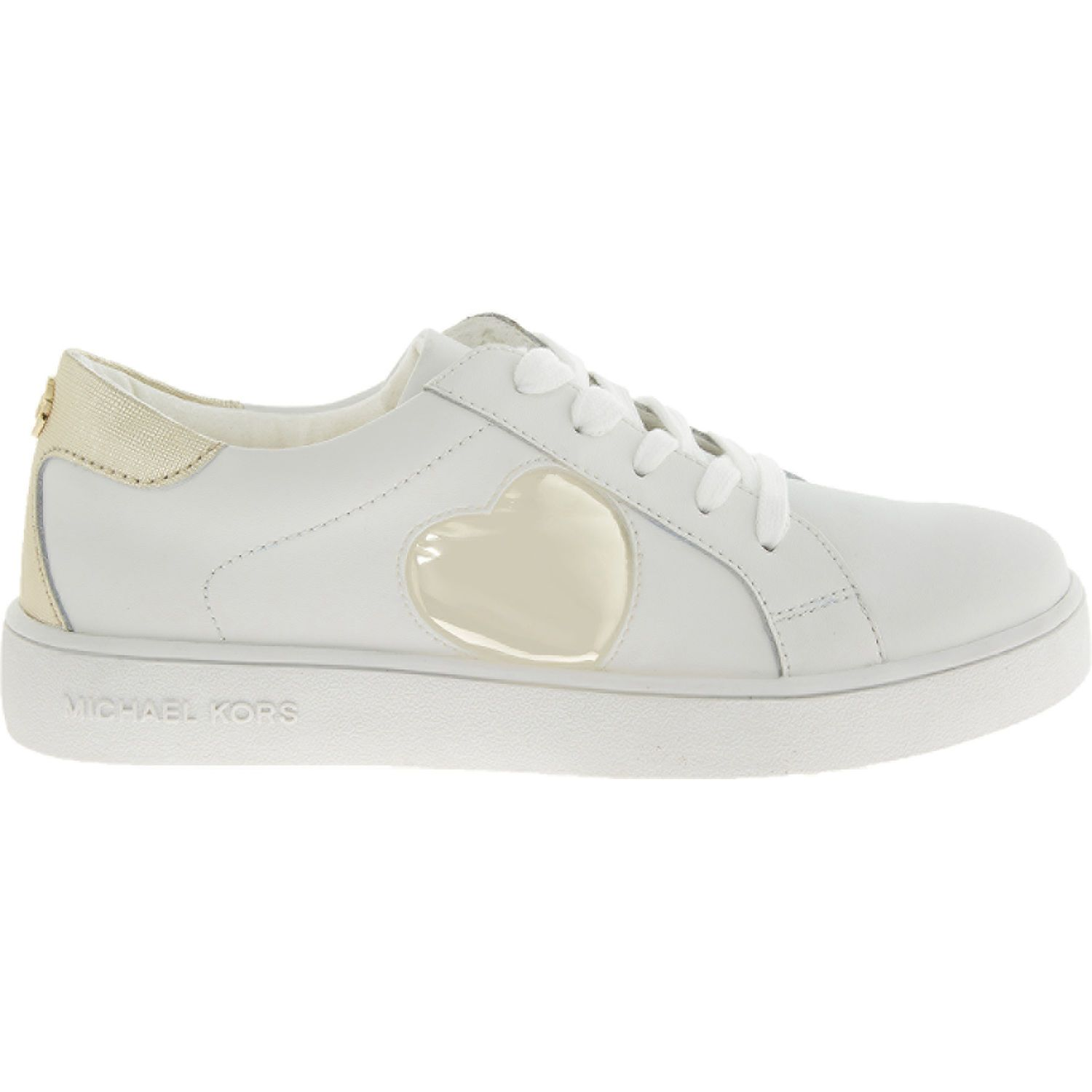 White Heart Logo Trainers - Girls' Trainers - Trainers ...