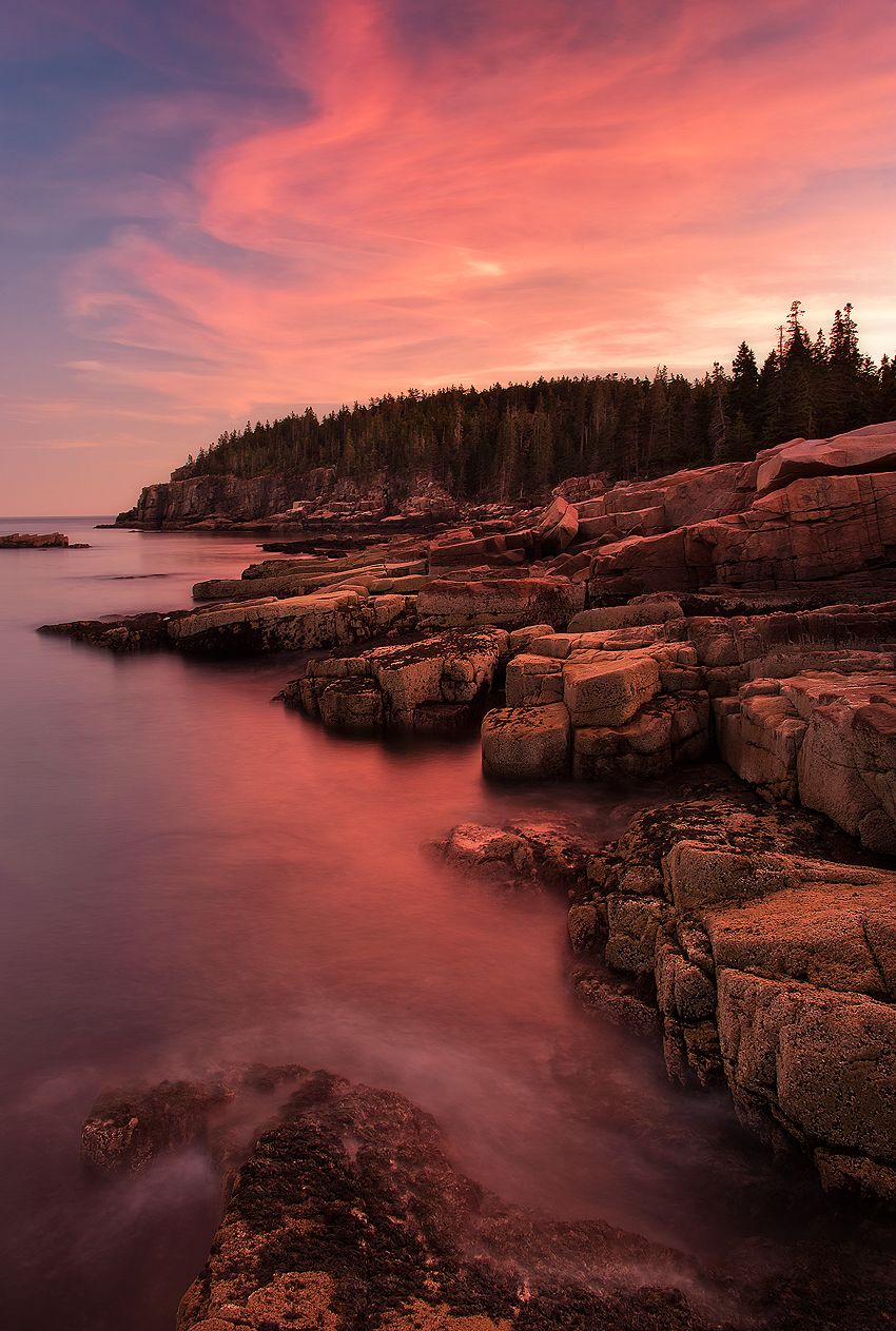 Beautiful Landscapes Sunsets National Parks