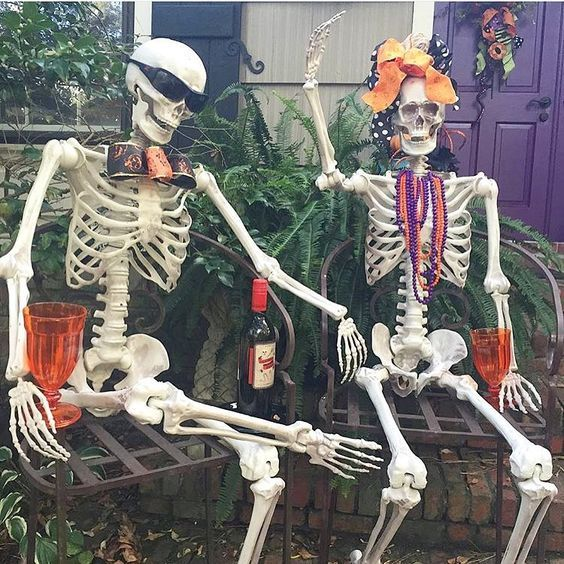 60+ Amazing Outdoor Decor Ideas For Halloween Party Pinterest - how to decorate for halloween party
