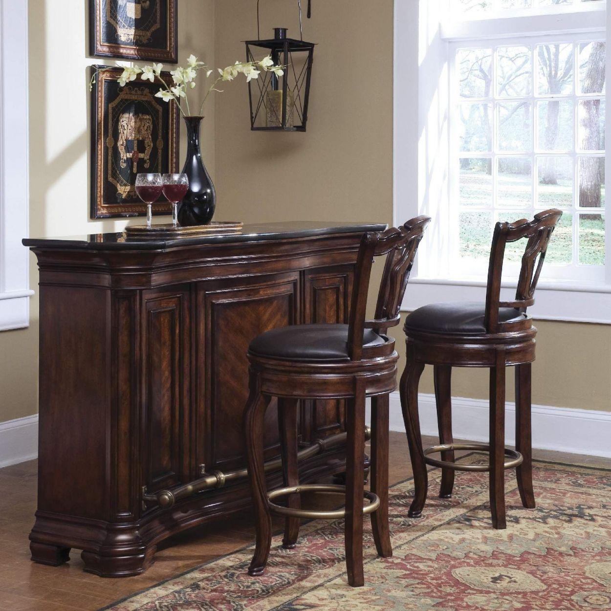Indoor Bar Set Furniture - Cool Rustic Furniture Check more at http ...