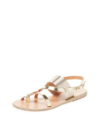 b8eb84a2e7 Alethea Flat Leather Sandal by Ancient Greek Sandals at Gilt | 2018 ...