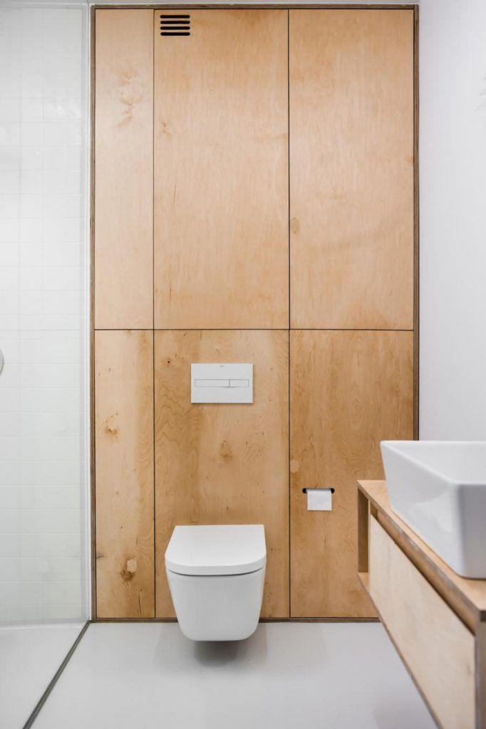 Modern appartement met underlayment interieur - Kast, Badkamer en Wc