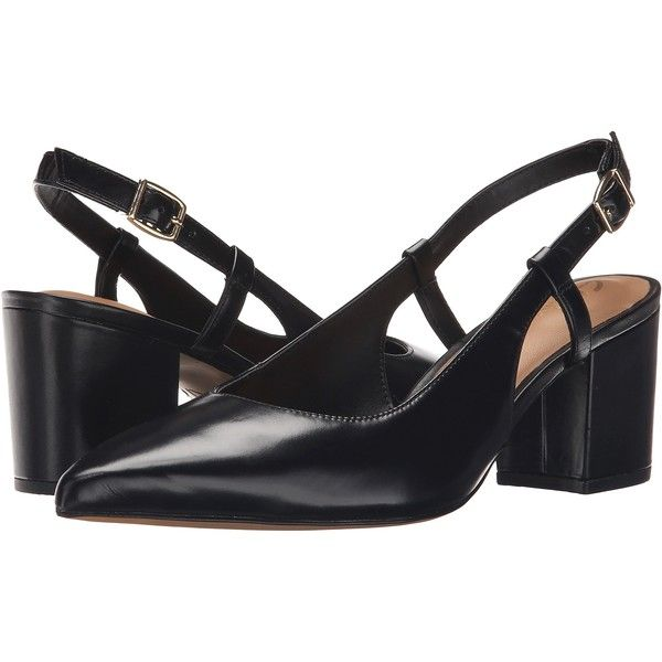 Clarks Pravana Claire (Black Leather) Women's Sling Back Shoes (105 NZD) ❤