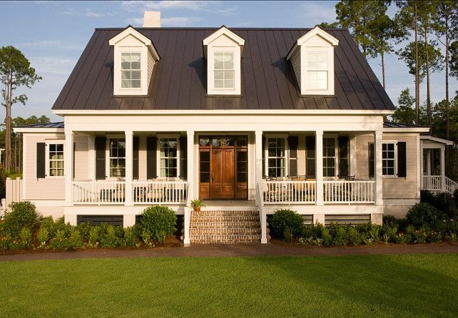Exterior Paint Colors: Siding Of The House Benjamin Moore Coastal Fog. Trim  Is Alabaster