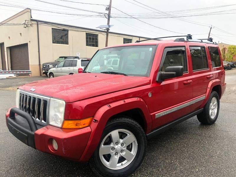 Salvage 2006 Jeep Commander for Sale in New Jersey