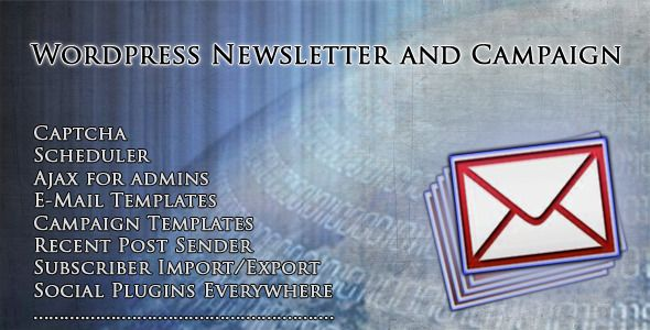 Wordpress newsletter and campaign wordpress newsletter and wordpress newsletter and campaign wordpress newsletter and campaign is an easy to use wordpress newsletter spiritdancerdesigns Gallery