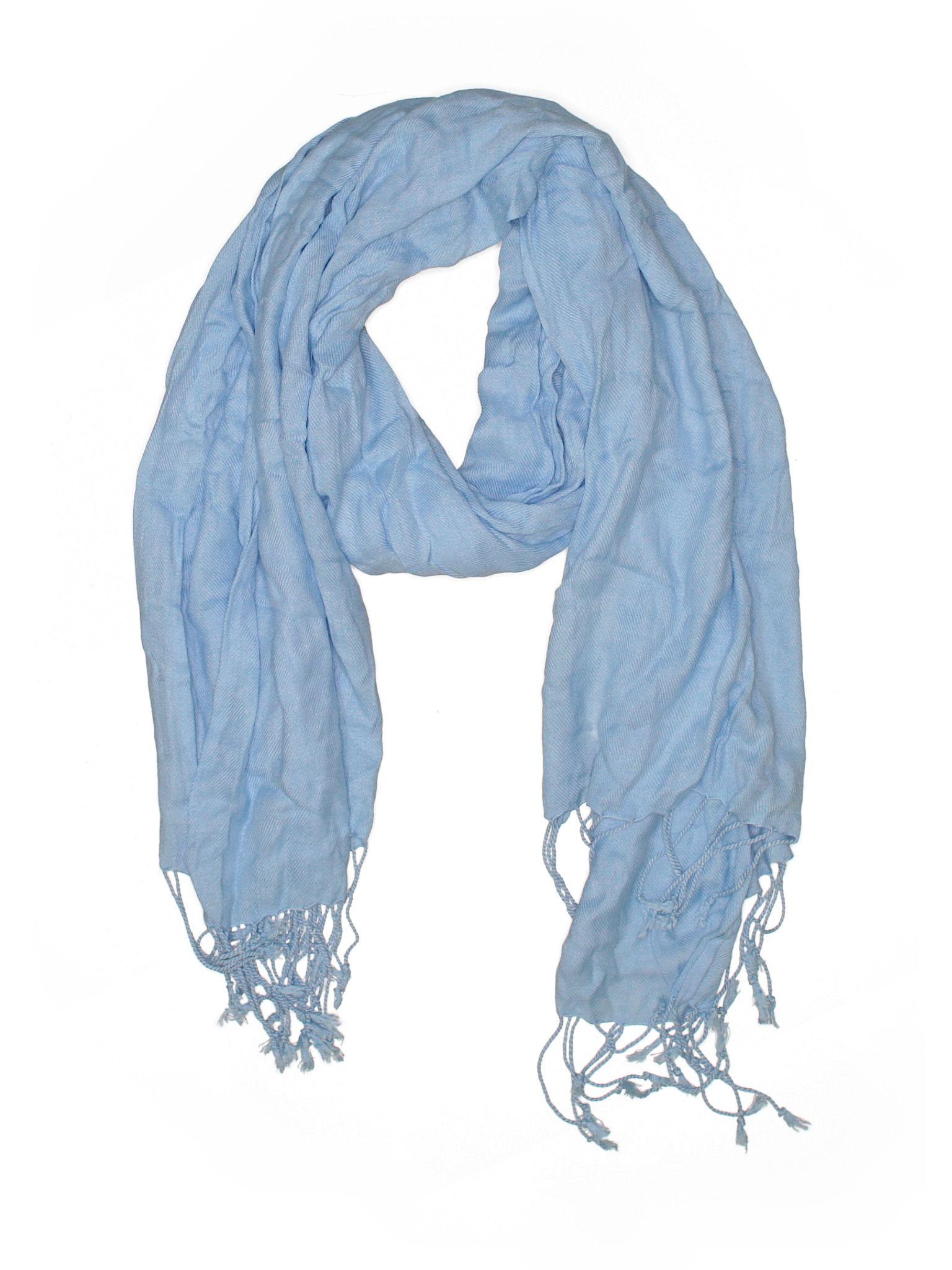 Bindya Scarf Size 000 Blue Womens Accessories  $2199