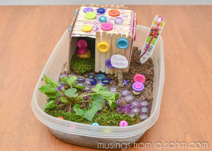 Make A Fairy House Craft For Kids Crafts Via Musingsfromasahm