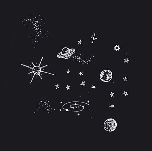 B W Black And White Drawing Space Space Drawings Drawings Art
