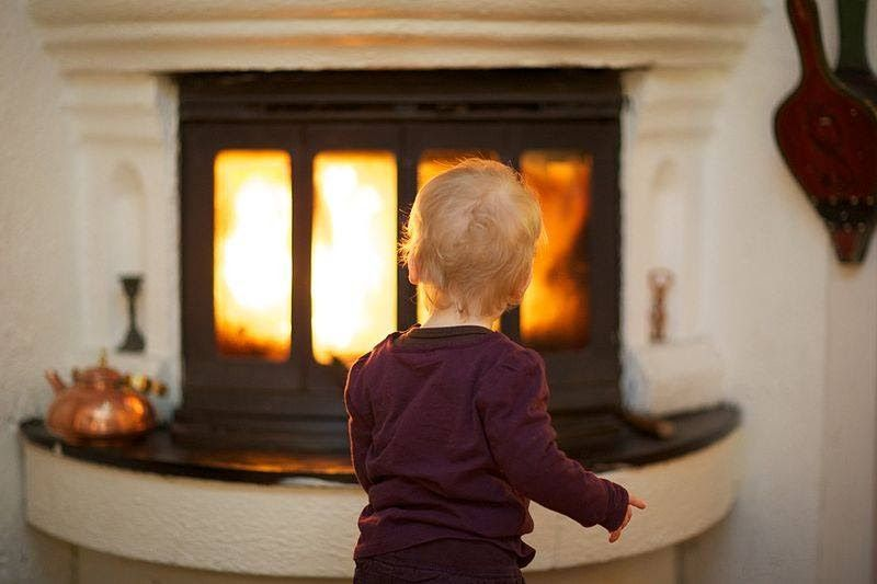 The Term Fireplace Is Used To Refer To An Opening In The Wall Of A Building That Is Connected To A Flue And To A Chim Fireplace Fireplace Glass Doors Homeowner