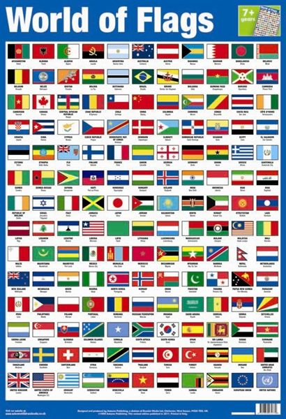 Picture Of World Of Flags World Flags With Names Flags Of The World Flags With Names