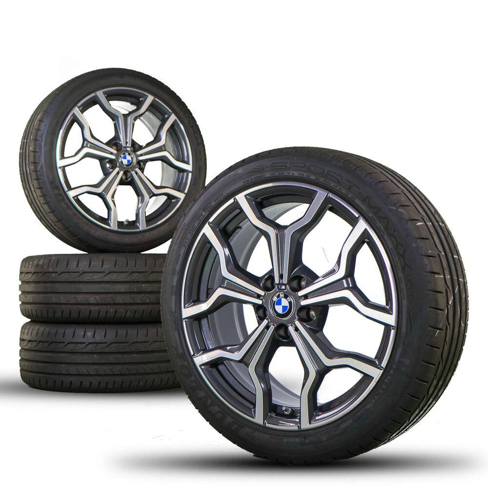 Ebay Sponsored Bmw 19 Zoll Felgen X2 F39 Alufelgen Sommerreifen Sommerrader Styling M722 Neu Cool Sports Cars Bmw Ebay