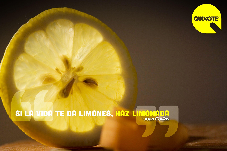 Frases Da Vida: Si La Vida Te Da Limones, Haz Limonada. ~Unknown